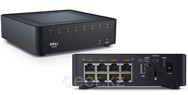 Коммутатор Dell 210-AEIR Networking X1008P Smart Web Managed Switch