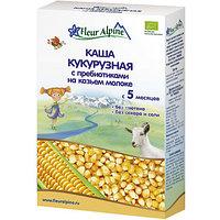 Каша Fleur Alpine молочная Кукурузная на козьем молоке с 5 месяцев 200 г