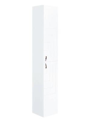 "Шкаф-колонна подвесная ""Пазл"", белый"