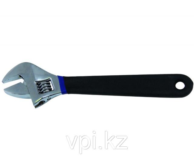 """Разводной ключ с резиновой ручкой 10""""/250мм"""