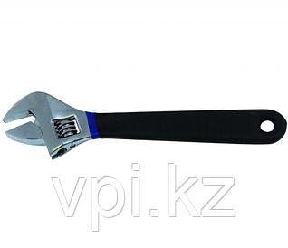 """Разводной ключ с резиновой ручкой 8""""/200мм"""