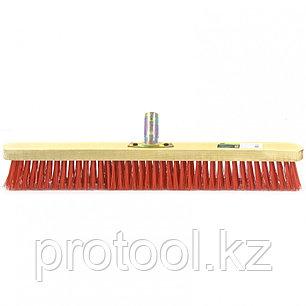 Щетка строительная  500 мм, 5 рядов, жесткая щетина, железная тулейка, без черенка// СИБРТЕХ, фото 2