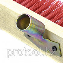 Щетка строительная  500 мм, 5 рядов, жесткая щетина, железная тулейка, без черенка// СИБРТЕХ, фото 3