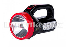 Ручной аккумуляторный светодиодный фонарь с боковым освещением KM-2623