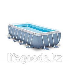 Каркасный бассейн 400x200x100 см, фильтр-насос + лестница, Intex 28316/26788, фото 2