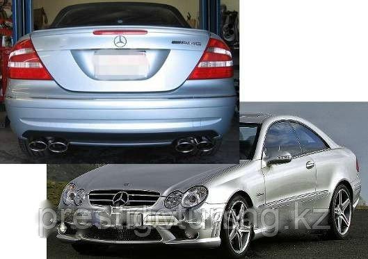 Обвес AMG на Mercedes-Benz CLK W209