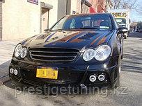 Передний бампер WALD на Mercedes-Benz CLK W209