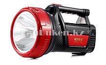 Ручной аккумуляторный светодиодный фонарь с боковым освещением KM-2661 (2602)