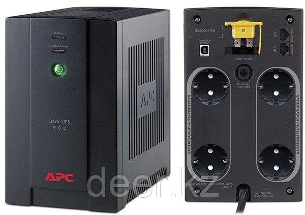 UPS APC/BX800CI-RS/Back/Line Interactiv/AVR/Schuko/800 VА/480 W