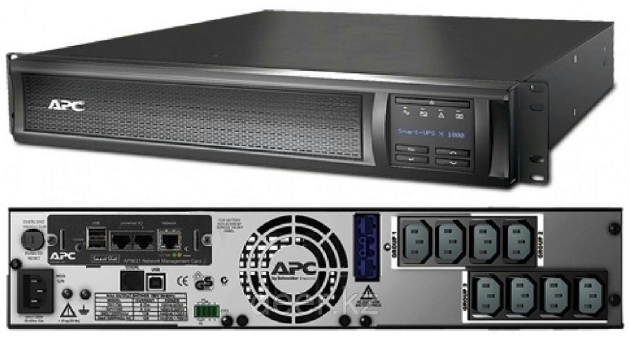 UPS APC/SMX1500RMI2UNC/Smart X-Series/Line interactiv/R-T/IEC/with AP9631 card/1 500 VА/1 200 W