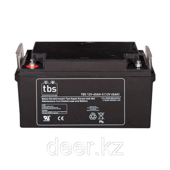 Аккумулятор Tuncmatik/TBS 12V-65AH-5/for UPS/internal