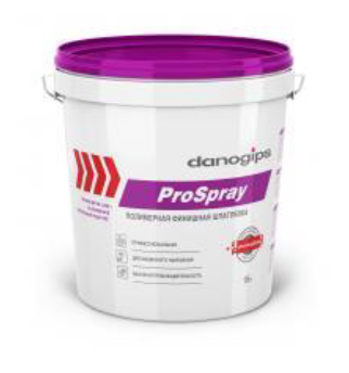 Danogips ProSpray – готовая финишная полимерная шпатлёвка.