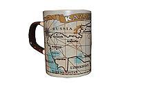 Кружка с изображением карты Казахстана