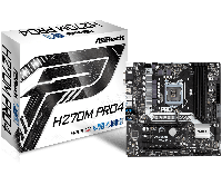 Материнская плата Intel 1151 H270 H270M PRO4