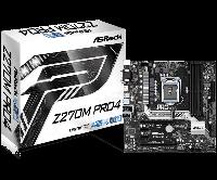 Материнская плата Intel 1151 Z270 Z270M PRO4