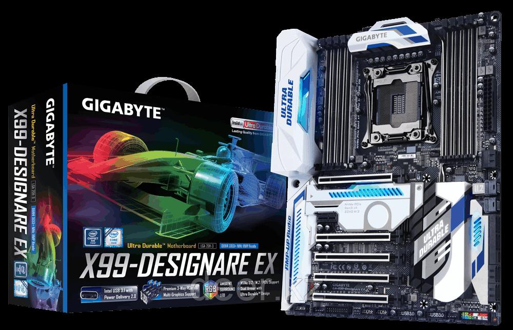 Материнская плата Intel 2011-v3 GA-X99-Designare EX