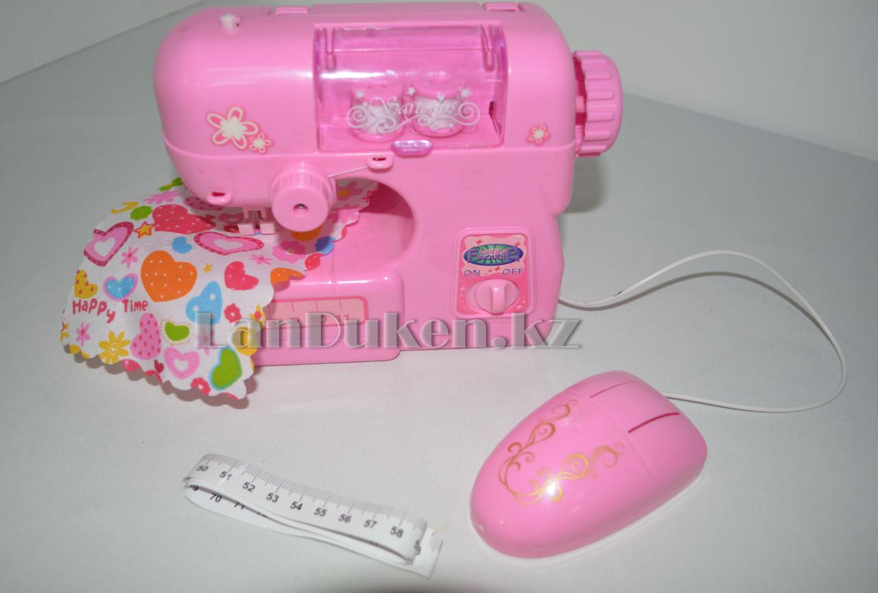 Игрушка Швейная машина Beauty Sartorius 21*8*14 см со светом и звуком - фото 3