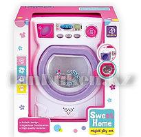 Игрушка Стиральная машина Sweet Home 13*14*19 см со светом и звуком