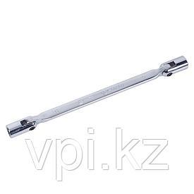 Торцевой двусторонний шарнирный ключ 10*11мм De&Li