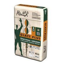 ALINEX-GLAT PLUS -ГИПСОВАЯ ШПАКЛЕВКА 25 КГ