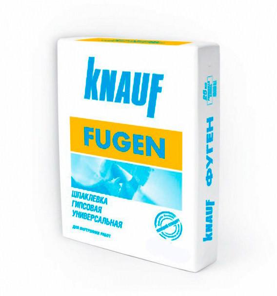 Шпаклевка гипсовая- Затирка для ГКЛ Knauf Fugen-Фуген 25 кг  шпаклевка гипсовая