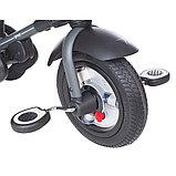 """Трехколесный велосипед QPLAY TORQUOISE надувные колеса 10""""/8"""", фото 9"""