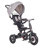 """Трехколесный велосипед QPLAY TORQUOISE надувные колеса 10""""/8"""", фото 8"""