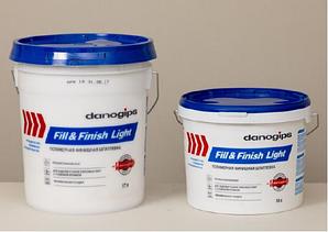 готовая финишная полимерная шпатлёвка- Danogips Fill&Finish Light – .(10 л)