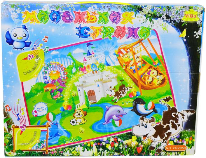 YQ2959 Плакат Маленькая страна сказки и стихи 31*39