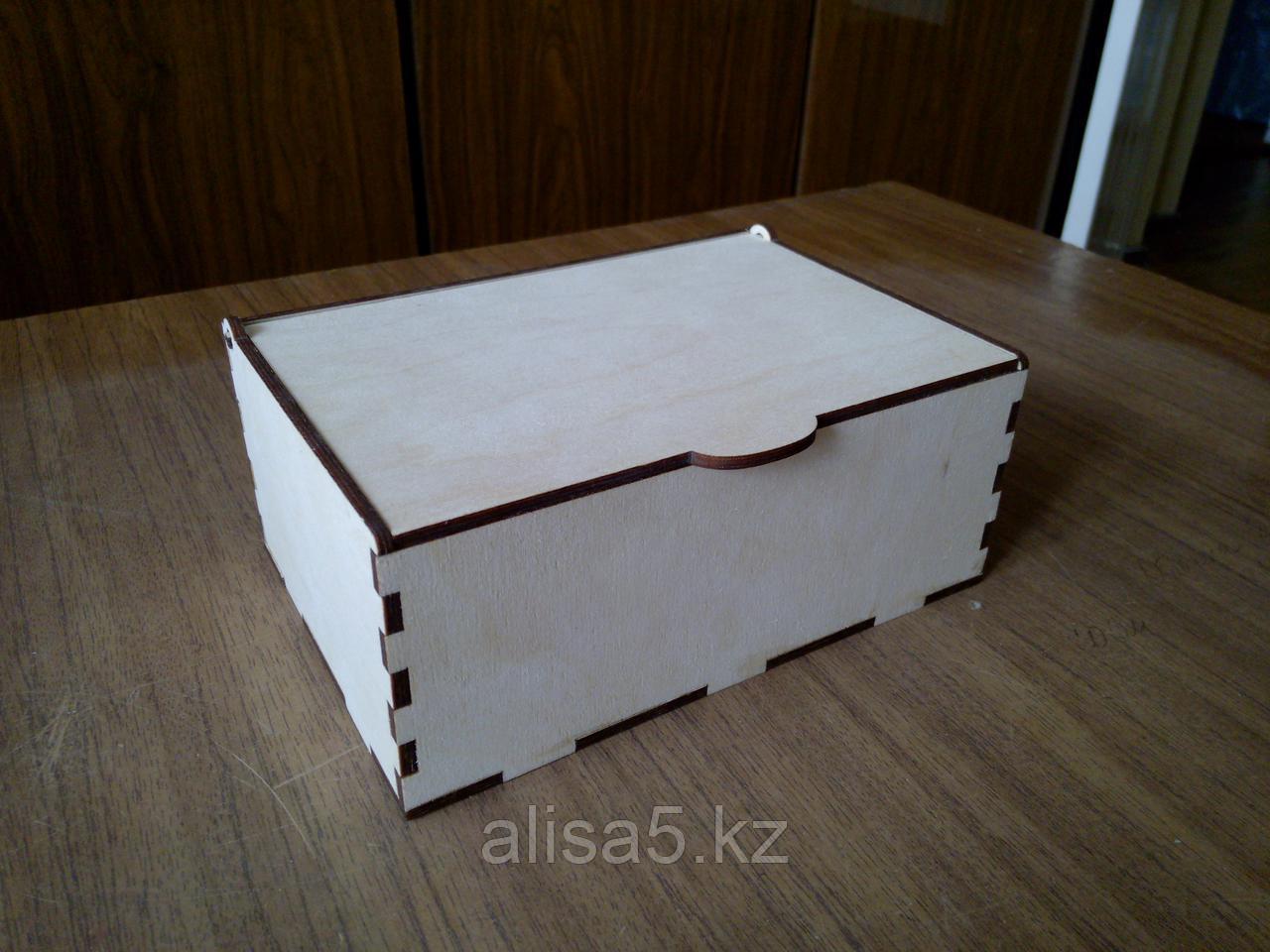 Шкатулка для мелочей (дерево) для декорирования 18*10*8 см
