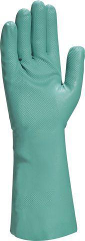Перчатки кислотостойкие (КЩС) зеленые