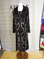 Платье из бархата всего за 2000 тг!