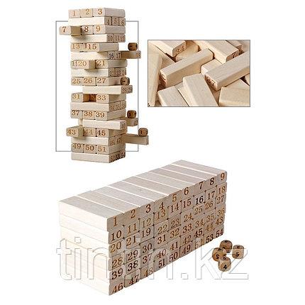 Настольная игра Jenga 54 брусков - 29х8х8см, фото 2