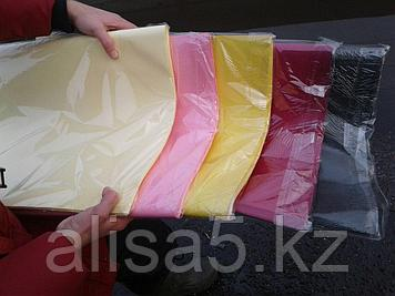 Крафт бумага цветная, черная, коричневая, желтая, красная, розовая