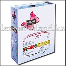 Маска для лица и шеи Dizao тканевая двухкомпонентная с экстрактом гриба линчжи.