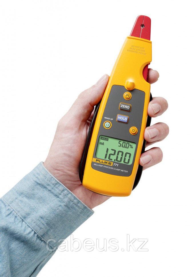 Калибратор-мультиметр с клещами для измерения малых токов Fluke 771