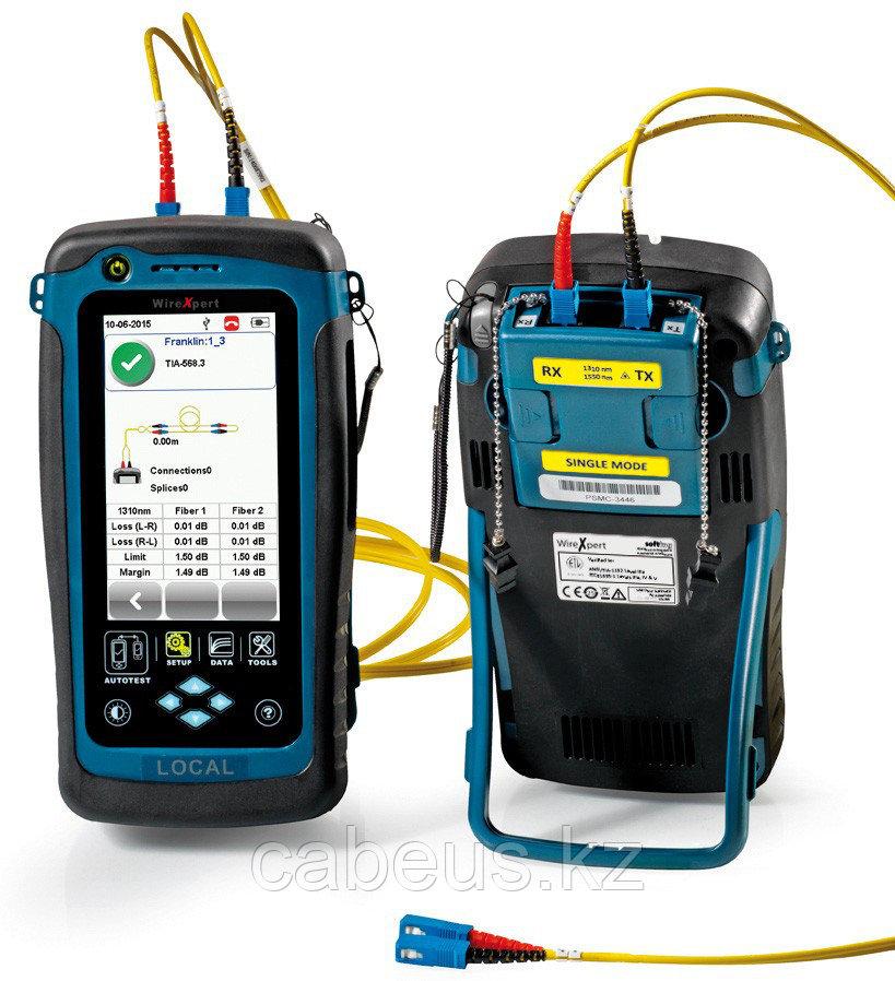 Тестер WireXpert 500-SM - для сертификации оптического волокна, Одномод 1310/1550 нм