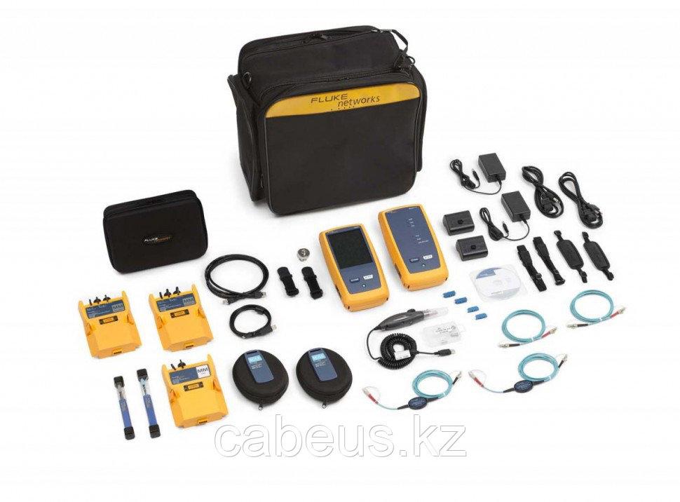 Кабельный тестер CertiFiber Pro в комплекте c многомодовым OTDR модулем, многомодовыми OLTS модулями и Inspection camera