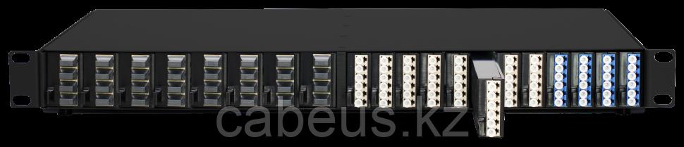 Шасси для оптических ответвителей серии HD Fiber TAP (на 24 LC или 16 MPO), 1U