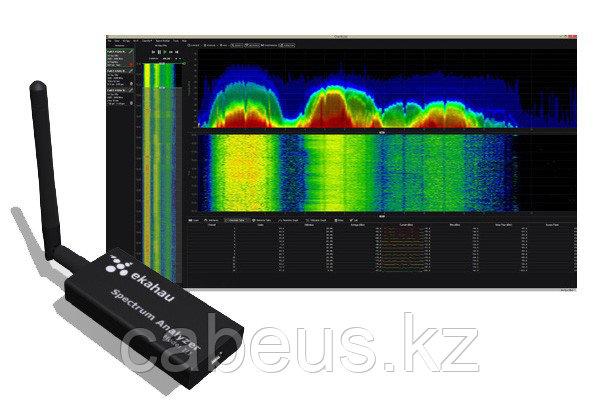 Ekahau DBx Spectrum Analyzer Pro 5.0 - Анализатор спектра 2.4 и 5 GHz (USB). Включает: лицензию на ПО и Анализатор спектра DBx (USB)