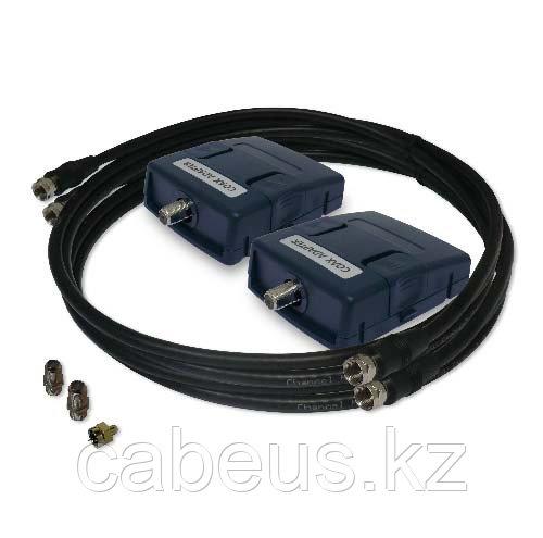 Набор из двух коаксиальных адаптеров с 50 и 75 Ом F-type интерфейсом для тестов 1-2400 MHz в соответствии с