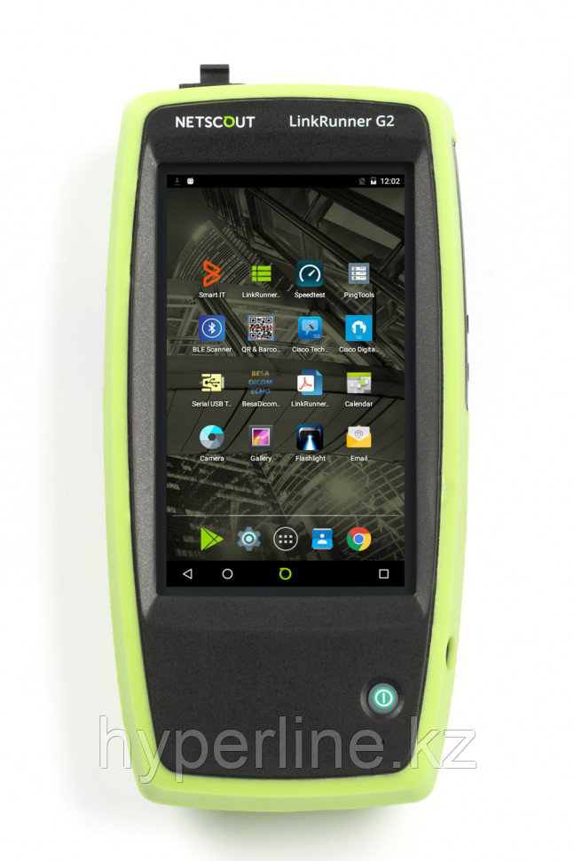 Комплект из пяти LinkRunner G2 cетевых тестеров для медных и оптических Ethernet сетей
