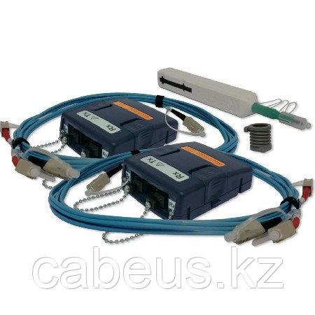 Psiber VCL_MM2 - Набор адаптеров для сертификации оптических линий MM 850/1300нм с оправками и дуплексными тестовыми шнурами - 2шт