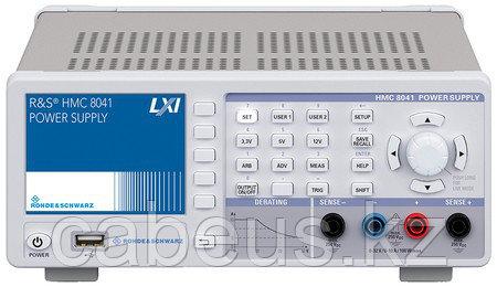 Источник питания HMC8041, 0 - 32В/10А, макс. 100В, 1 канал