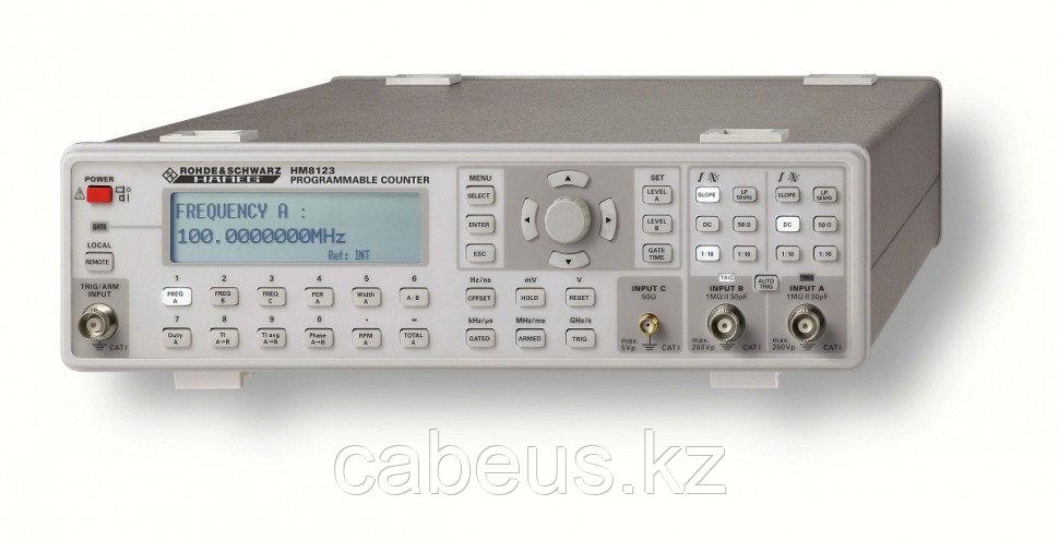 Программируемый частотомер HM8123-X (3 ГГц) с термостатированным кварцевым генератором (OCXO)
