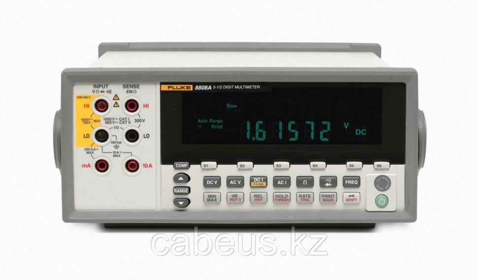 Мультиметр настольный Fluke 8808A 220V (программное обеспечение и кабель)