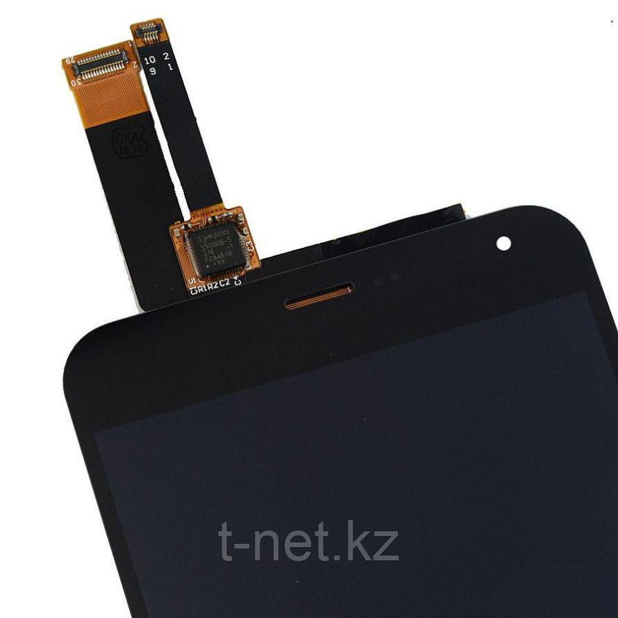 Дисплей MEIZU M2 Note M571H, с сенсором, цвет черный