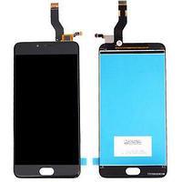 Дисплей MEIZU M3 Note L681H , с сенсором, цвет черный