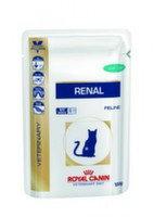 Royal Canin Renal (тунец) Роял Канин корм для кошек при почечной недостаточности (12 шт. по 100 гр), фото 1
