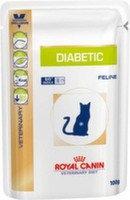 Royal Canin Diabetic Cat Pouch Роял Канин корм для кошек при сахарном диабете (12 шт. по 100 гр)